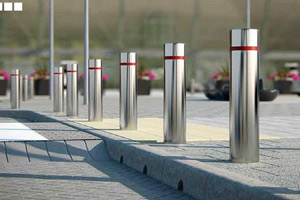 Bollards Enhance Safety